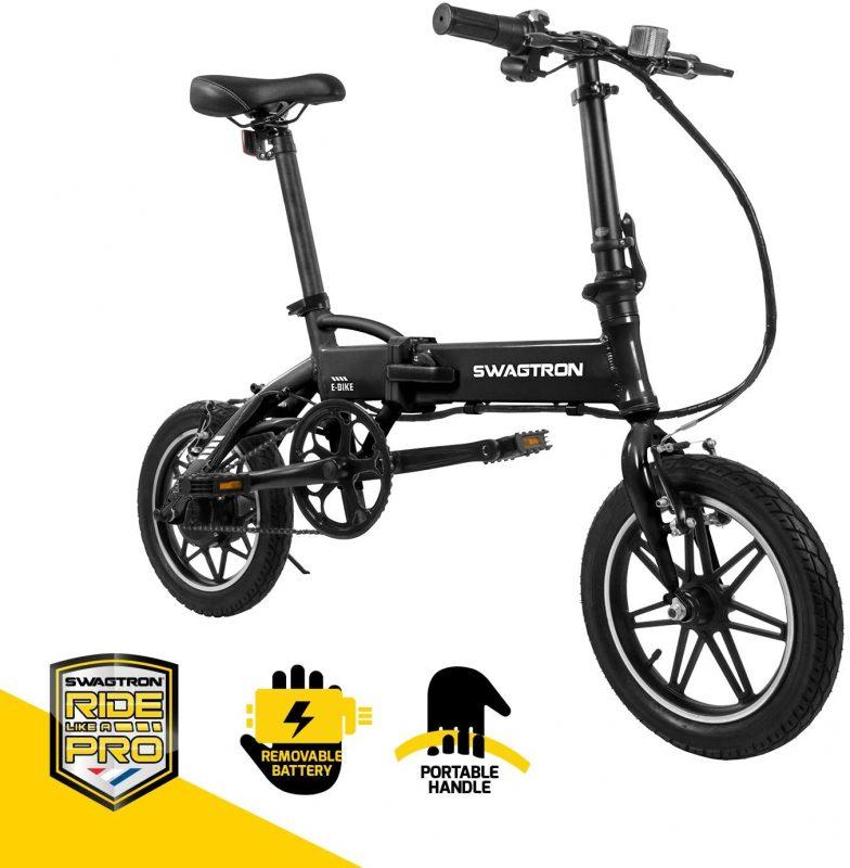 SWAGTRON Swagcycle EB5 Series Aluminum Folding Ebike